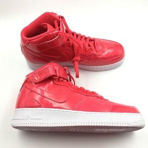 Nike Siren Red AF1 Mid 07 G1111672